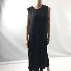 ASOS Women Maxi Dress Size 12 Back Pleated
